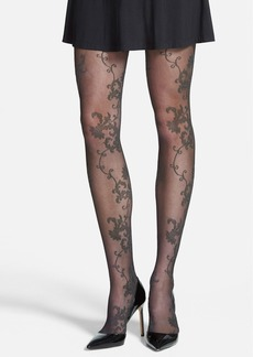 Hue 'Sweet Pea' Control Top Tights