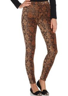 Hue Tapestry Print Corduroy Leggings