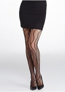 HUE Tiger Net Tights