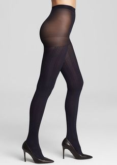 HUE Tights - Cable Knit Control Top #U14541