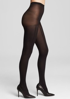 HUE Tights - Contour Rib Control Top #U15008