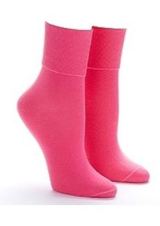 HUE Turn Cuff Socks