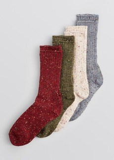 HUE Tweed Boot Socks