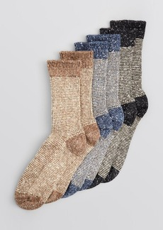 HUE Tweed Twist Boot Socks