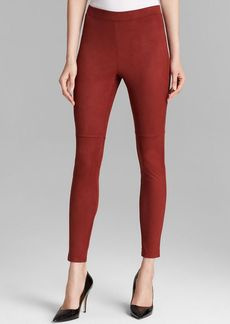 HUE Ultra Suede Leggings