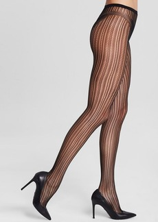 HUE Vertical Openwork Net Tights
