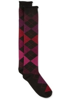 Hue Women's Argyle Knee Socks