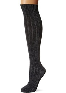 Hue Women's Chenille Ribbed Knee Sock
