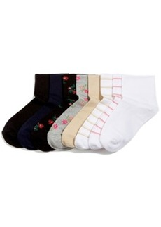 Hue Women's Cotton Body Socks