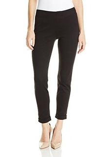 Hue Women's Cuffed Tweed Ponte Skimmer Leggings