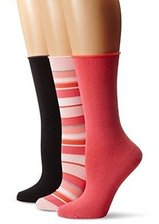 Hue Women's Jeans Sock 3-Pack