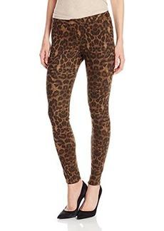 Hue Women's Leopard Print Original Denim Leggings