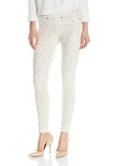 Hue Women's Original Denim Leopard Print Leggings
