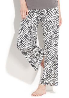 HUE Zebra Patch Pajama Pants