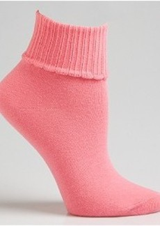 HUEtopia Turn Cuff Ankle Socks