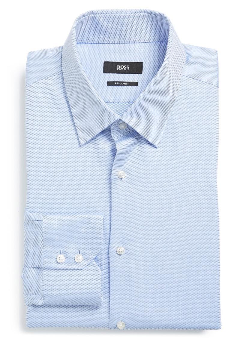 hugo boss boss 39 enzo 39 regular fit solid dress shirt