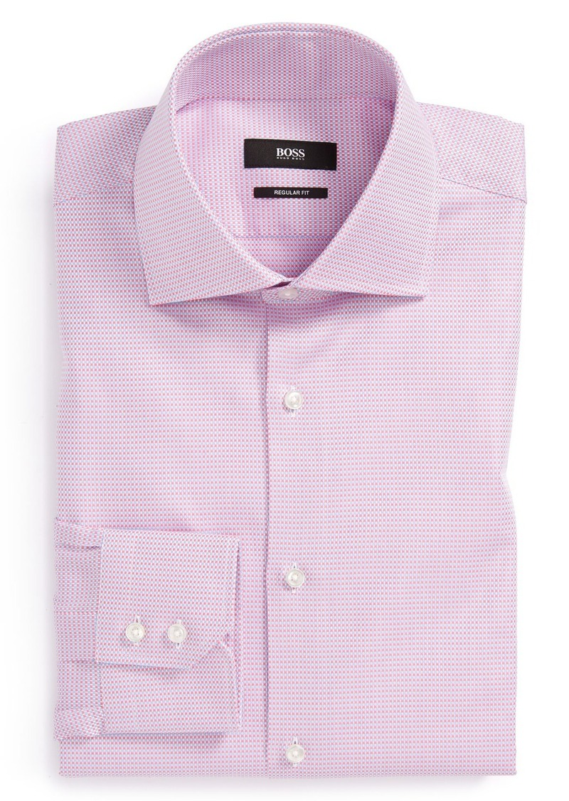 hugo boss boss 39 gerald 39 ww regular fit dress shirt dress