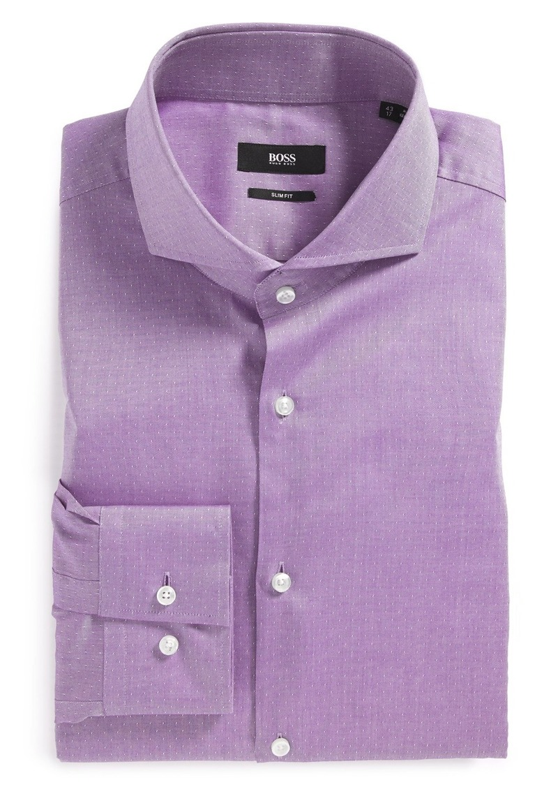 Hugo Boss Boss 39 Dwayne 39 Ww Slim Fit Dobby Dress Shirt