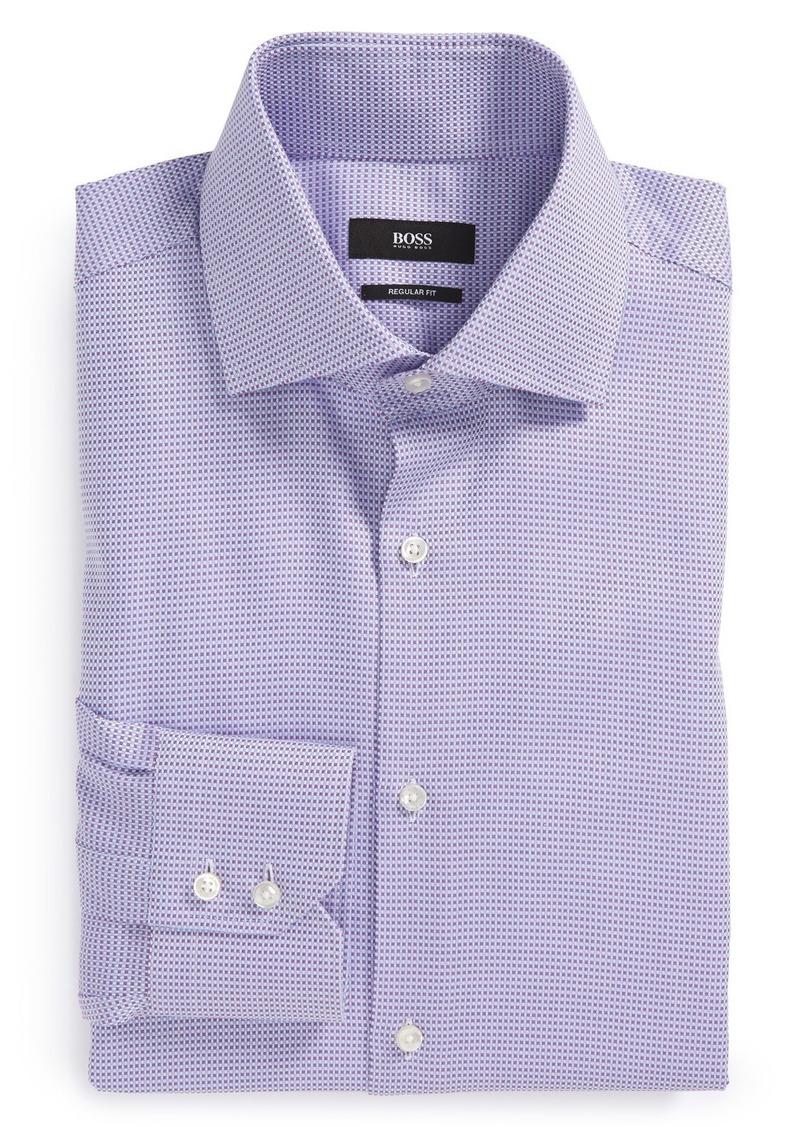 Hugo Boss Boss 39 Gerald 39 Ww Regular Fit Check Dress Shirt