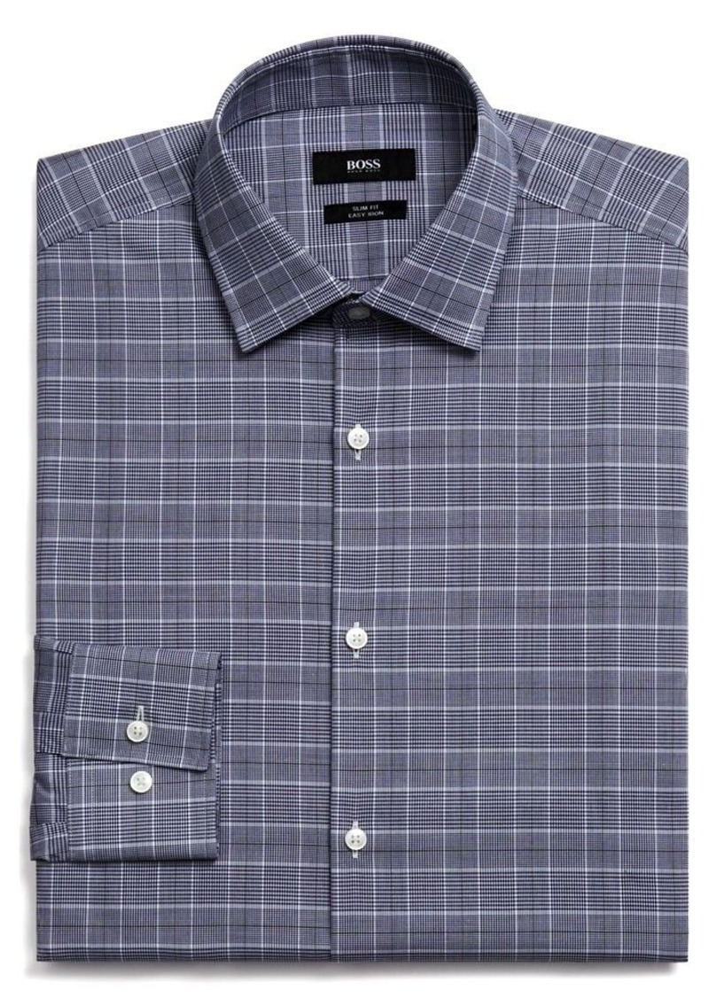 Hugo Boss Boss Hugo Boss Jenno Plaid Slim Fit Dress Shirt