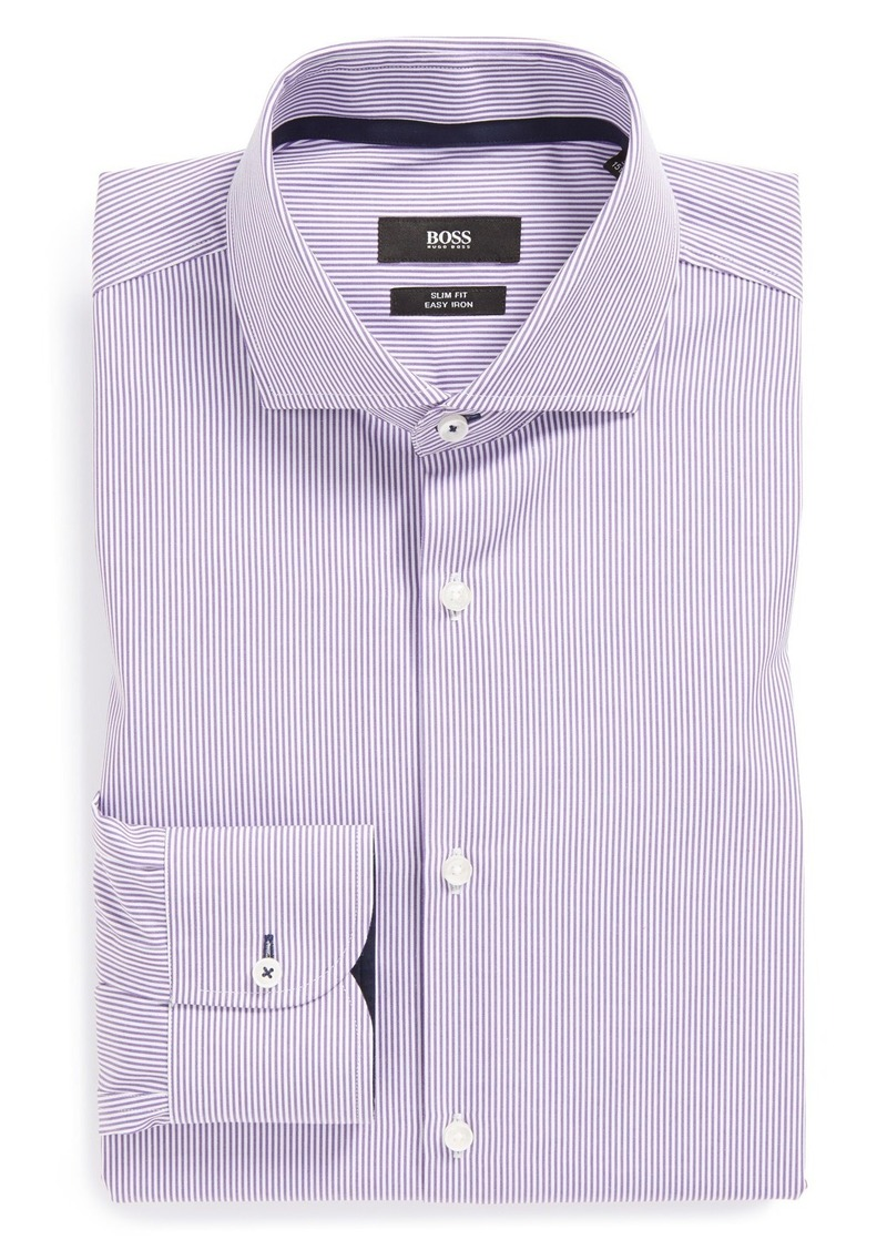 Hugo Boss Boss Hugo Boss 39 Jery 39 Slim Fit Easy Iron Stripe