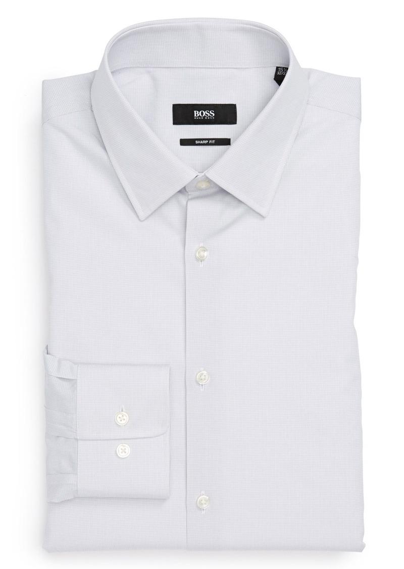Hugo boss boss hugo boss 39 marlow 39 sharp fit dress shirt for Hugo boss formal shirts