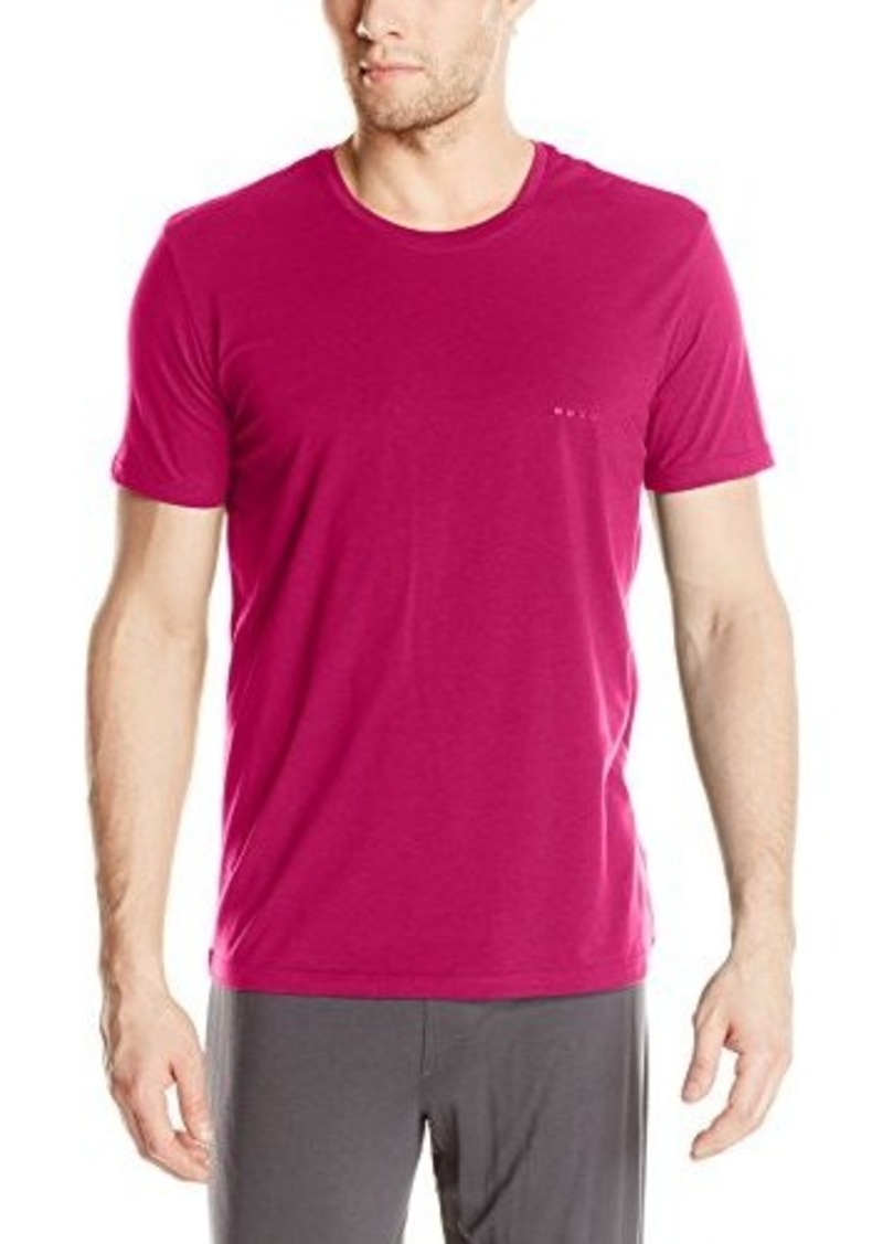 Hugo boss boss hugo boss men 39 s cotton modal crew t shirt for Modal t shirts mens