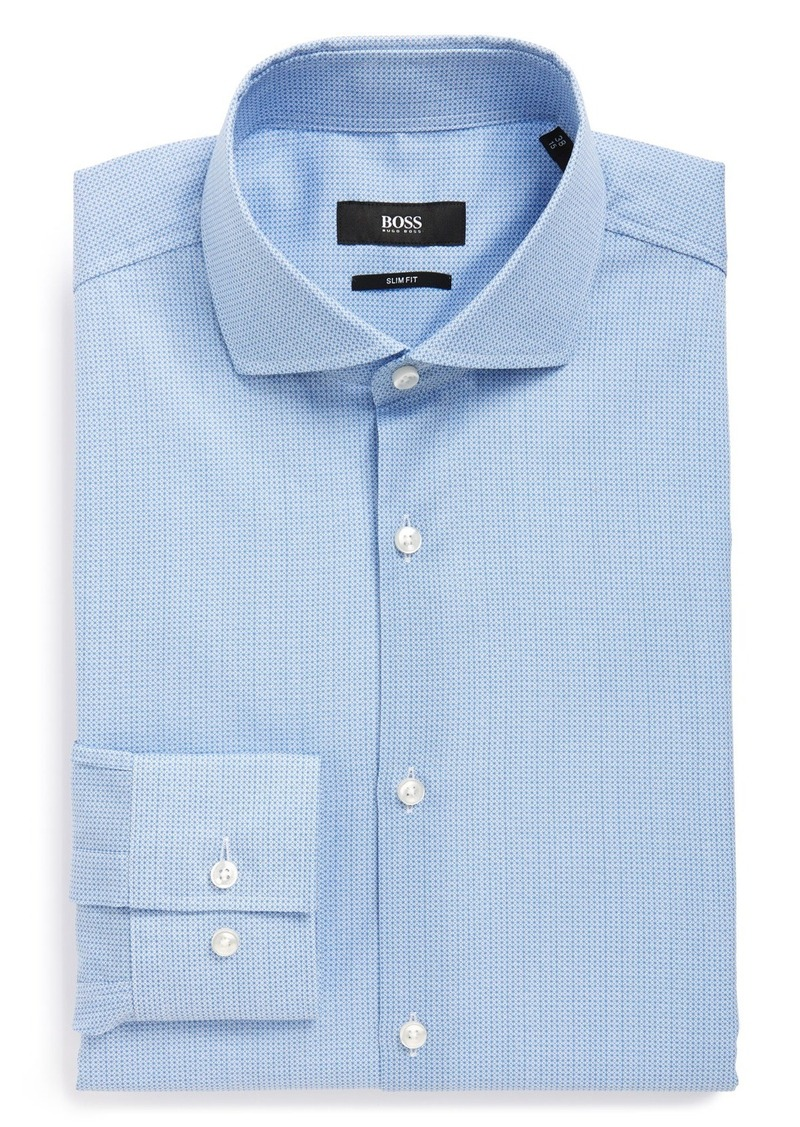 Hugo Boss Boss 39 Jason 39 Ww Slim Fit Check Dress Shirt