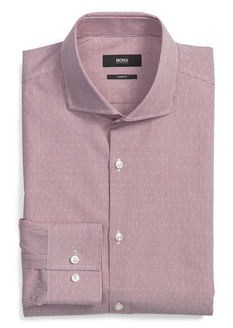 Hugo Boss Boss 39 Jason 39 Ww Slim Fit Stripe Dress Shirt