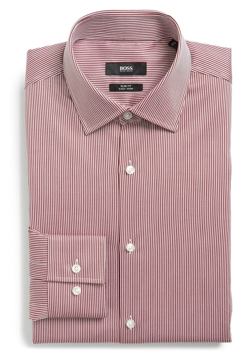 Hugo Boss Boss 39 Jenno 39 Ww Slim Fit Easy Iron Stripe Dress