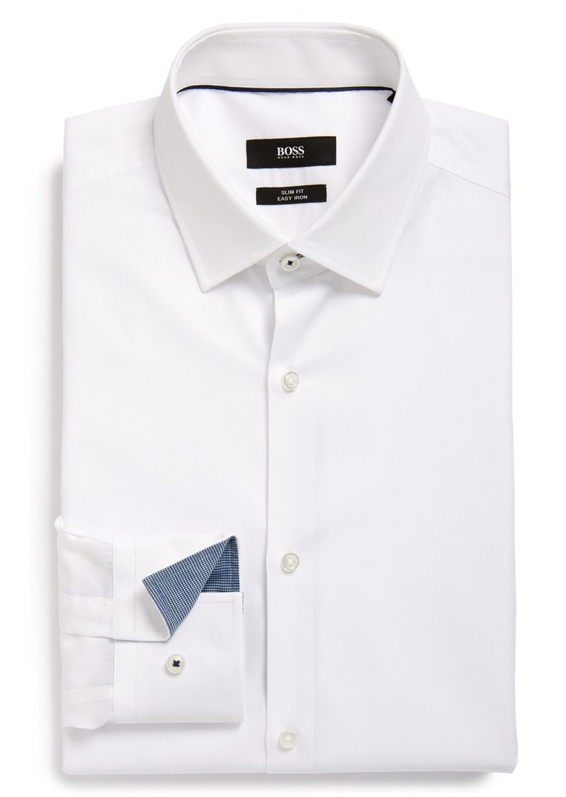 Hugo Boss Boss 39 Joey 39 Ww Slim Fit Easy Iron Dress Shirt