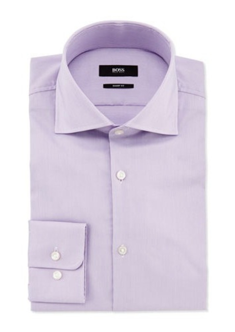 Hugo boss hugo boss sharp fit miles narrow stripe dress for Hugo boss formal shirts