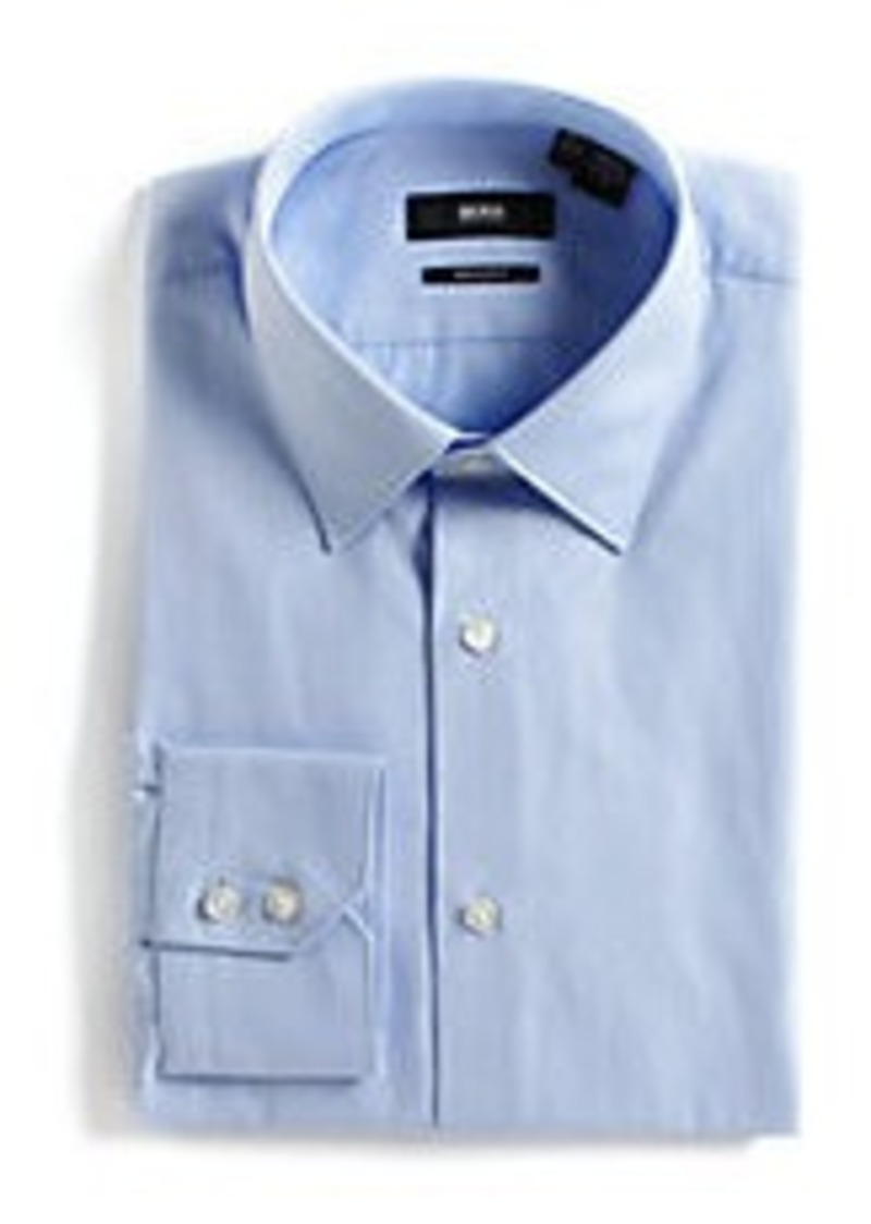 Hugo Boss Hugo Boss Slim Fit Cotton Dress Shirt Dress