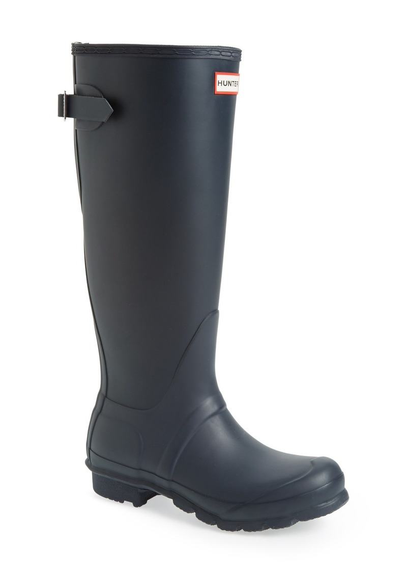Beautiful Hunter Boot Womens Green Original Tour Buckled Welly Boot | Xeuee