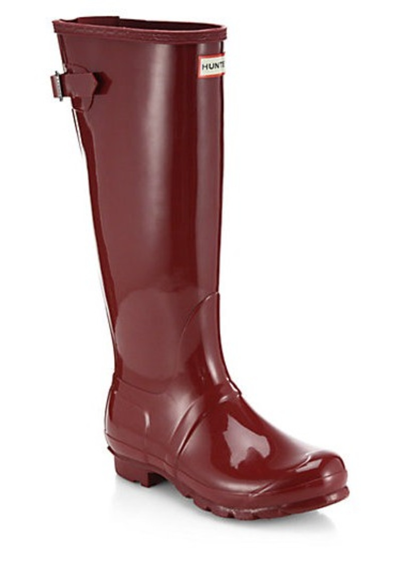 hunter hunter gloss finish original rain boots shoes shop it to me. Black Bedroom Furniture Sets. Home Design Ideas