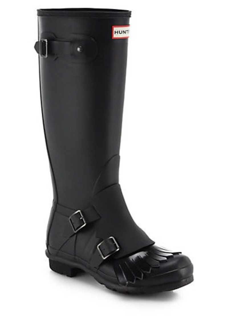 hunter hunter original monk strap rain boots shoes shop it to me. Black Bedroom Furniture Sets. Home Design Ideas