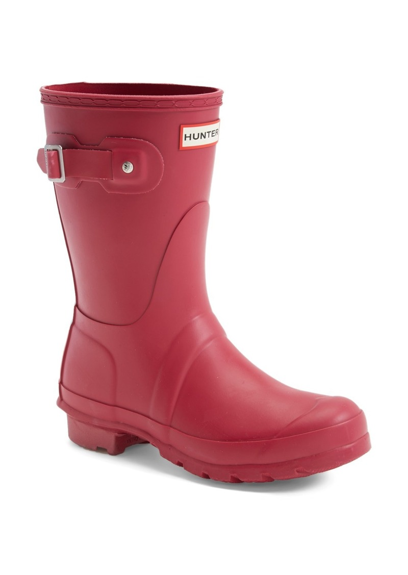 hunter hunter 39 original short 39 rain boot women shoes shop it to me. Black Bedroom Furniture Sets. Home Design Ideas