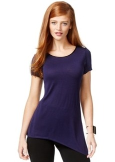 Inc International Concepts Asymmetrical-Hem Sweater, Only at Macy's