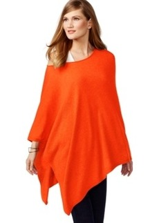 Inc International Concepts Asymmetrical Poncho Sweater, Only at Macy's