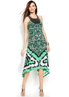 INC International Concepts Beaded Racerback Halter Dress