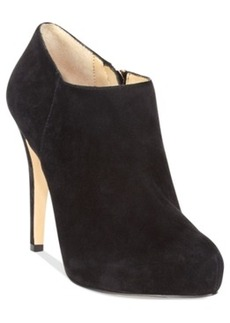 INC International Concepts Bellona Platform Booties Women's Shoes