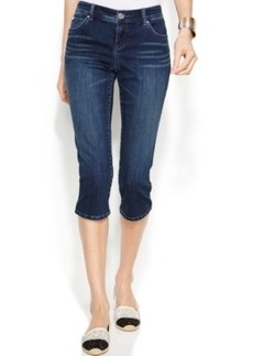 INC International Concepts Capri Skinny Jeans, Beautiful Wash