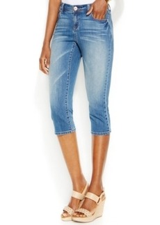 INC International Concepts Capri Skinny Jeans, Crawford Wash