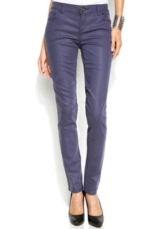 INC International Concepts Coated Skinny Jeans