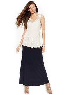 INC International Concepts Convertible Maxi Skirt