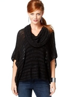Inc International Concepts Cowl-Neck Poncho Sweater, Only at Macy's