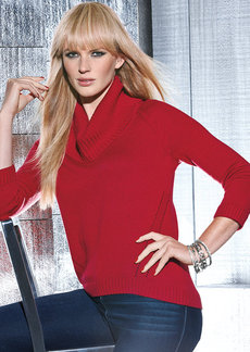 INC International Concepts Cowl-Neck Sweater