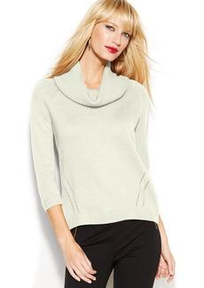 INC International Concepts Cowl-Neck Sweater