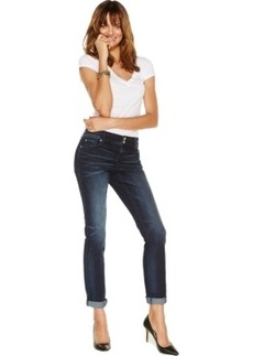 Inc International Concepts Curvy-Fit Boyfriend Jeans, Fire Wash, Only at Macy's