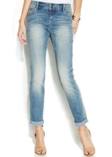 INC International Concepts Boyfriend Jeans, Zenith Wash